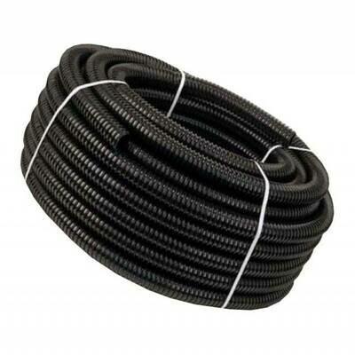 Шланг гофрированный D=40мм 30м черная