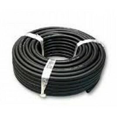 Шланг кислородный D-6,3мм (черный) (1 метр)