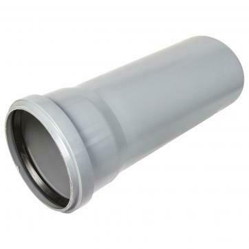 Труба канализационная D=110мм  (L=1м)