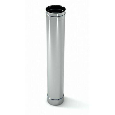 Труба оцинкованная D=120мм, 0,5мм (0,5 метра)