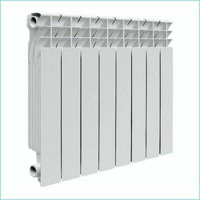 Радиатор алюминиевый,  8 секций