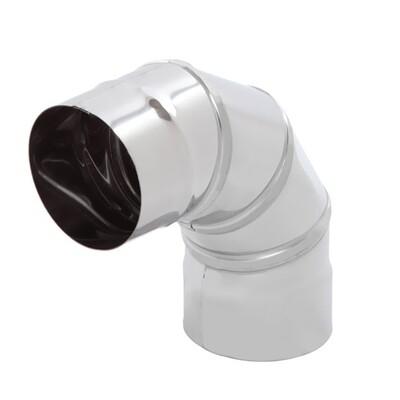 Отвод оцинк (90гр*d120) 0,5мм (7624)