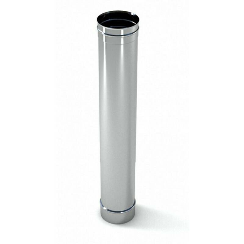Труба оцинкованная D=115мм, 0,5мм (0,5 метра)