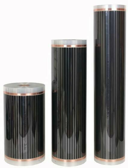 Пленка нагревательная, ширина 100см (220Вт/м²)