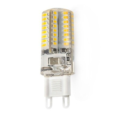 Лампа светодиодная g9 5,5W 220V, силикон