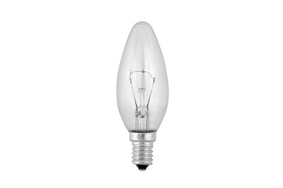 Лампа свеча 40W/60W CL E27