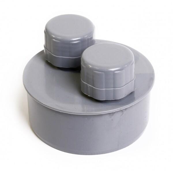 Клапан вакуумный D=110мм