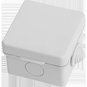 Коробка распределительная,  65мм*65мм*50мм для о/п, пр.