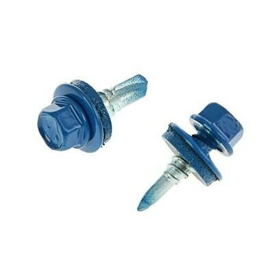 Саморез кровельный 5,5мм*25мм (RAL-5005 Насыщенный синий)