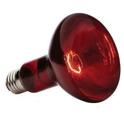 Лампа ИКЗК, красная 215-225-250