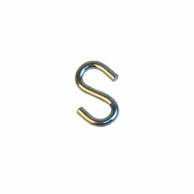 Крюк S-образный оцинкованный 5мм