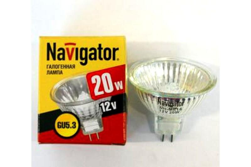 Лампа Navigator 20W GU5.3 12V