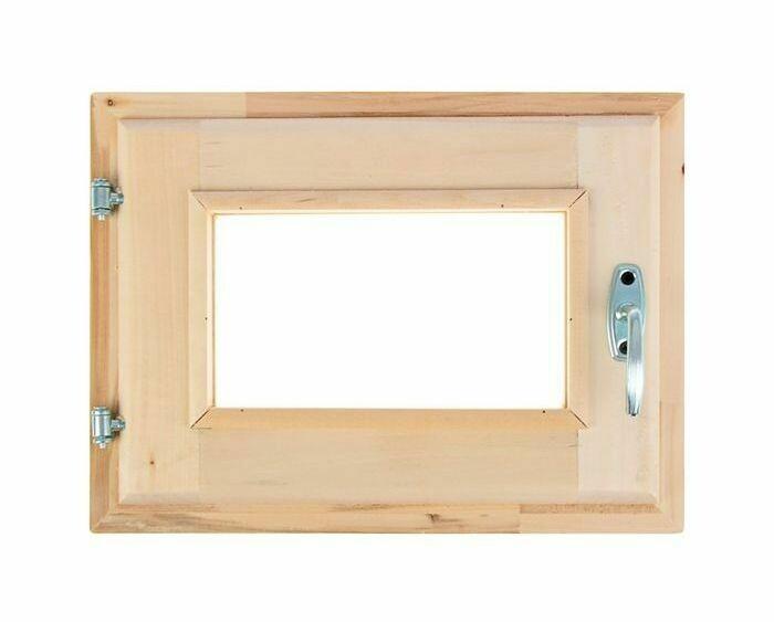 Окно 30см*40см, двойное стекло, с уплотнителем