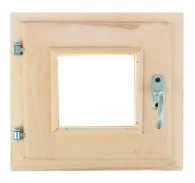 Окно 30см*30см, двойное стекло, с уплотнителем