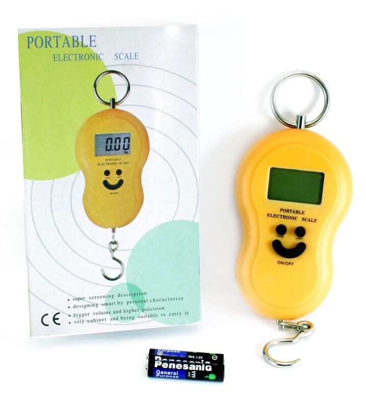Безмен электронный T-299 LCD-дисплей