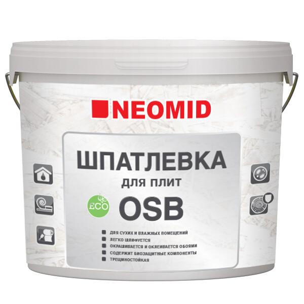 """Шпатлевка для плит OSB (7кг) """"Неомид"""""""