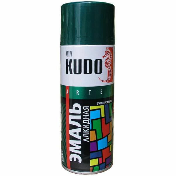 """Эмаль универсальная ХАКИ (520мл.) """"KUDO"""""""