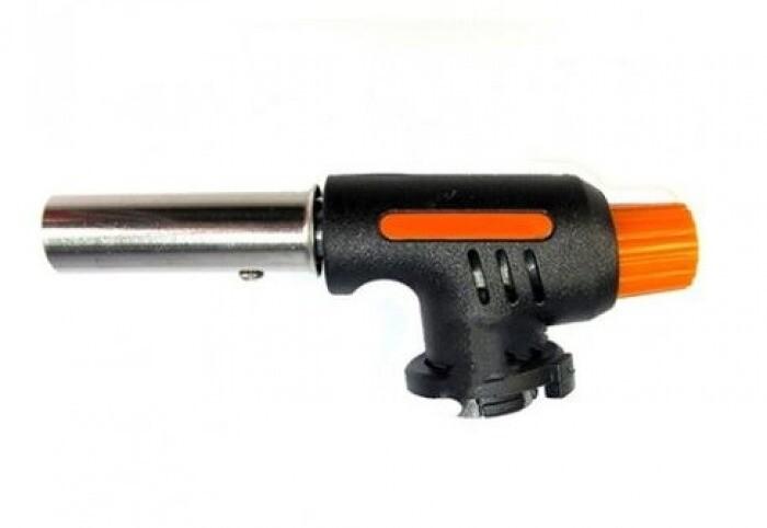 Горелка газовая 807-1 серо-оранж.пьезо