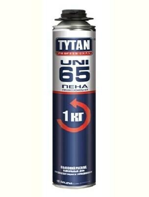 Пена профессиональная зимняя TYTAN Professional 65 UNI (-20С) 750мл.