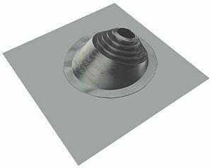 Мастер Флеш фланец угловой №1 (706-203) силикон, серебристый