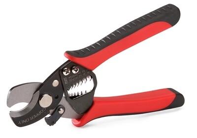 Ножницы 2в1, для резки кабеля и зачистки проводов