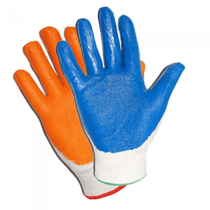 Перчатки нейлон тонкие, обливные