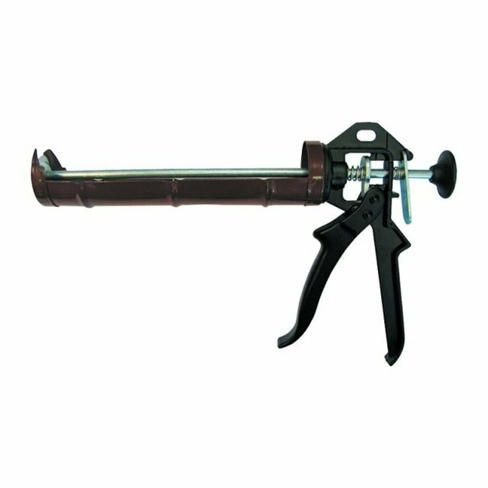 """Пистолет для герметика, полукорпусной, усиленный черный """"LIT"""""""