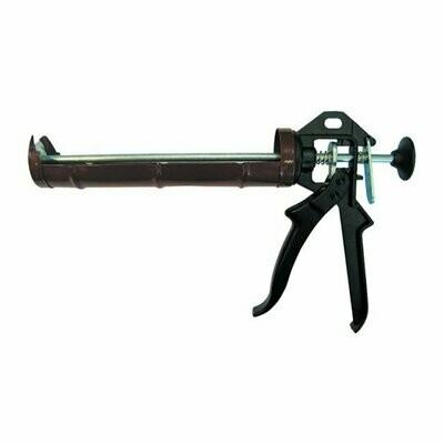 Пистолет для герметика, полукорпусной, усиленный черный
