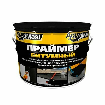 "Праймер битумный  3л (ведро 2,4кг) ""AquaMast"""