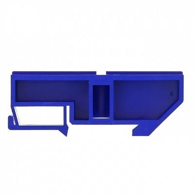 Изолятор DIN, синий