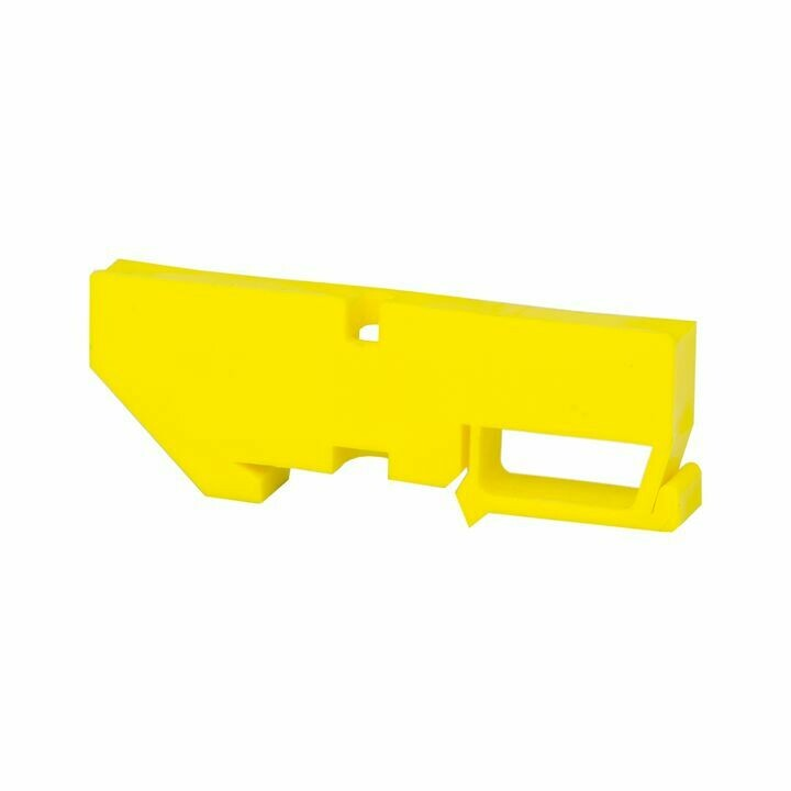 Изолятор DIN, желтый