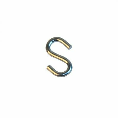 Крюк S-образный оцинкованный 4мм