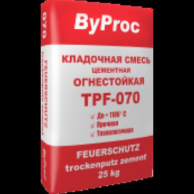 ByProc Кладочная смесь огнестойкая TPF-070 (25кг)