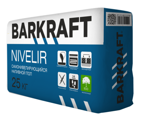 "BARKRAFT ""NEVELIR"" Пол наливной (25кг) (54меш)"