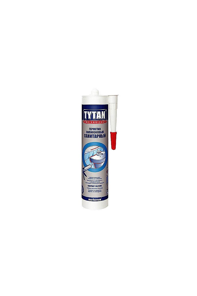 """Герметик силиконовый санитарный белый (310мл) """"TYTAN Professional"""""""