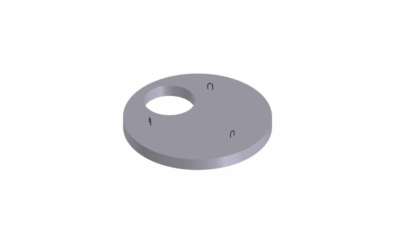 Крышка  под люк (диаметр-1м)