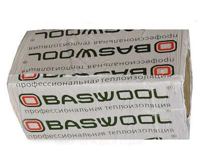 Baswool Фасад 110 1200мм*600мм*100мм (3плиты-2,16м²/0,216м³/упаковка)