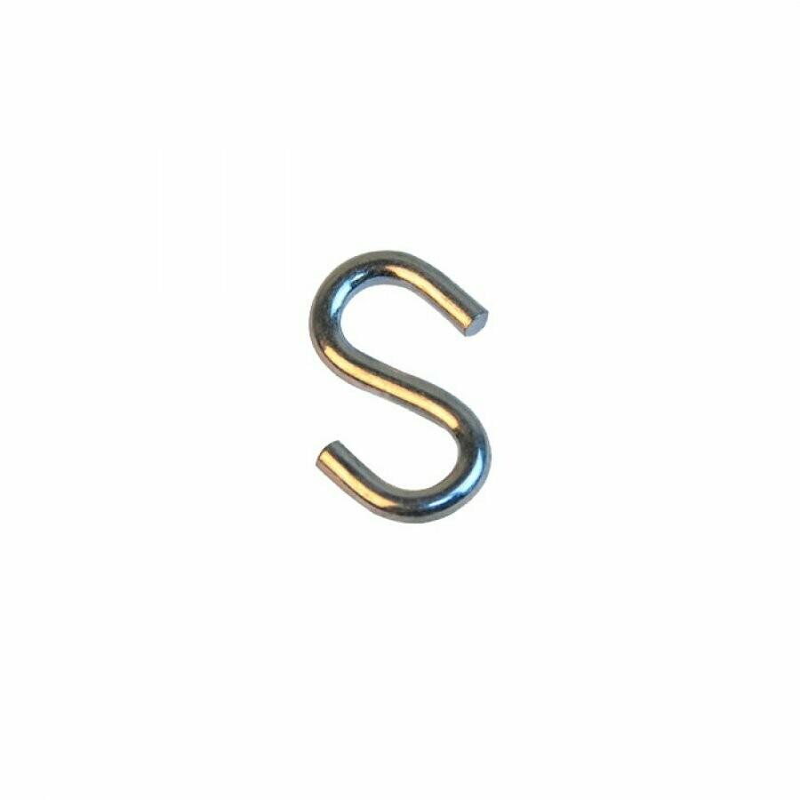 Крюк S-образный оцинкованный 6мм