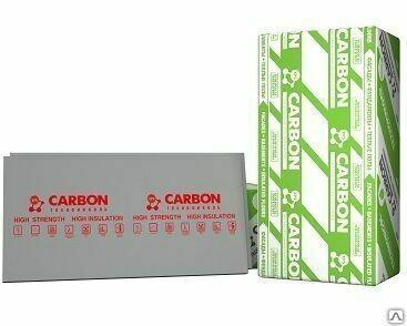 Техноплекс CARBON ЭКО 1180мм*580мм*30мм 0,68м² (13шт/ 8,89м²/упаковка)