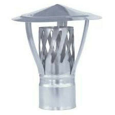 Зонт с искрогасителем, D115мм, 0,5мм, нержавеющая сталь