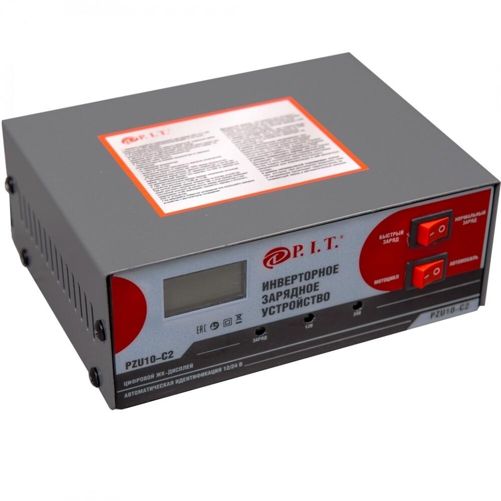 """Зарядное устройство инверторное PZU10-C2 180Вт, ток зарядки 8/12А, """"PIT"""""""