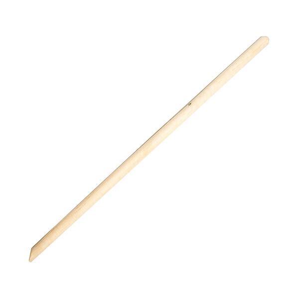 Черенок для граблей и лопат D=30мм 1,5 метра (высший сорт)