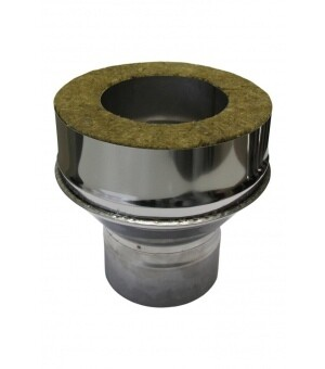 Адаптер котла 230мм*130мм, 0,50мм + 1,00мм, нержавеющая сталь