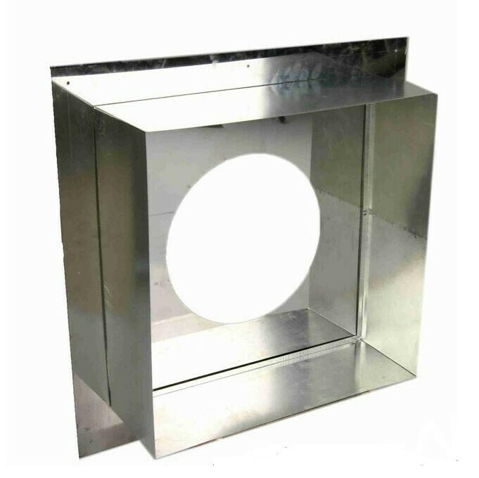 Потолочно-проходной узел (ППУ) D200мм, нержавеющая сталь