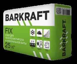 """BARKRAFT """"FIX"""" Клей для пенополистирола и минеральной ваты (25кг) (56меш)"""