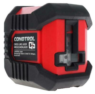"""Уровень лазерный, 10м., 2 луча """"Condrol QB Promo"""""""