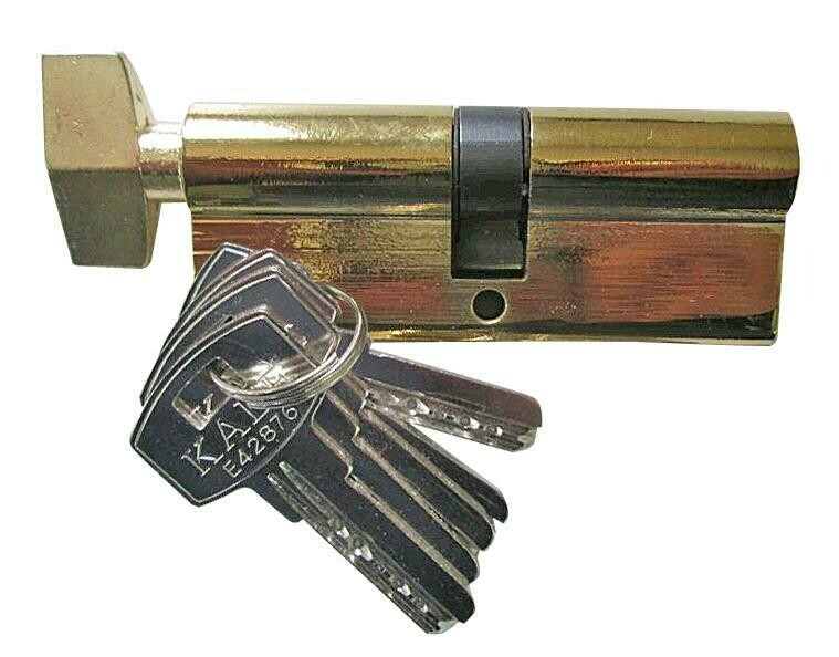 Механизм цилиндровый 60-G KALE (5 ключей с барашком)