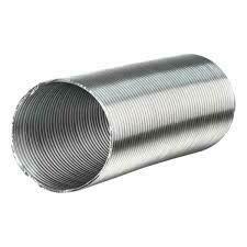Воздуховод стальной нерж. Компакт 100 (2метр)