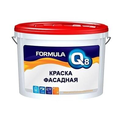 Краска фасадная, белоснежная полиакриловая  (5кг)