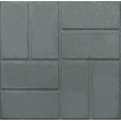 Плитка полимерная тротуарная 33см*33см (1м² - 9шт)